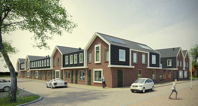 Ontwikkeling aan de Hollewal en Verzetsstraat van 24 appartementen en een tweekapper in Den Burg op Texel