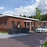 Herontwikkeling aan de Primulastraat van voormalige basisschool Het Plankier naar 20 eengezinswoningen.