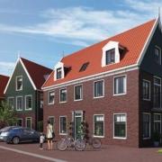 Herontwikkeling van café 'Flying Sailer' naar twee kavels voor vrijstaande villa's en een zestal appartementen aan de Westerstraat op Marken